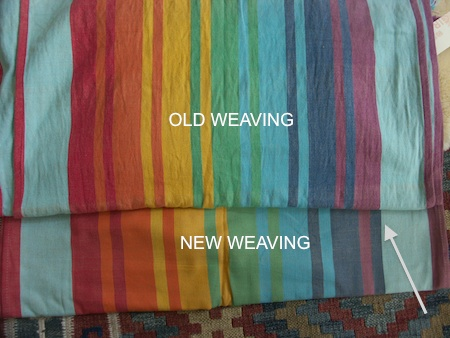 New weaving